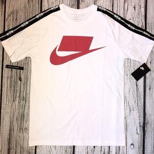 Nike Sportswear NSW Men's Shirt White/Red